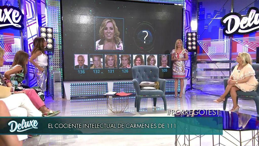 El test de Irene López Assor revela cuál de las hermanas Campos es más inteligente