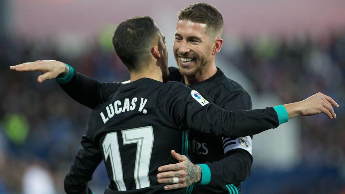 Sergio Ramos da pistas de cuándo se retirará tras una foto de Lucas Vázquez con el brazalete de capitán