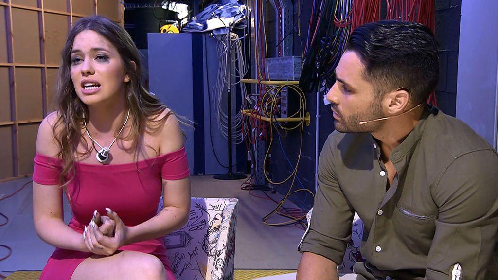 Anastasia asegura que ha visto llamadas en el móvil de Eleazar con Silvia