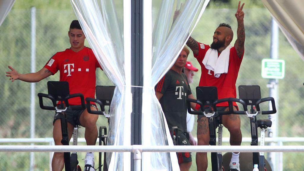 El favor de James Rodríguez a Arturo Vidal para facilitar su fichaje por el FC Barcelona