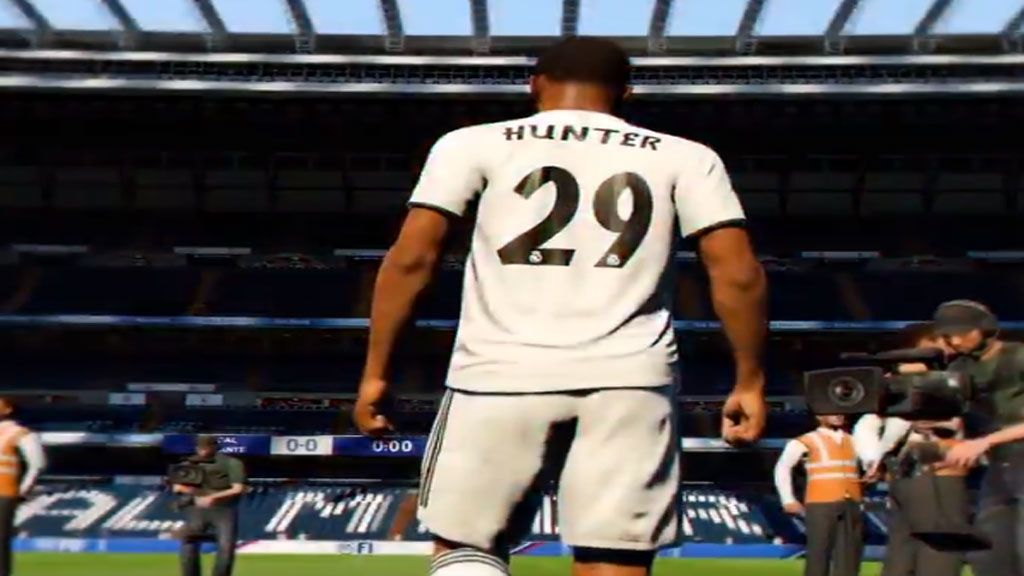 Alex Hunter continúa su Camino en FIFA 19 en el Real Madrid