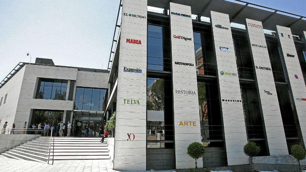 Sede del grupo Unidad Editorial, en Madrid.