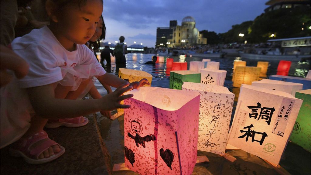 73 aniversario del bombardeo de Hiroshima
