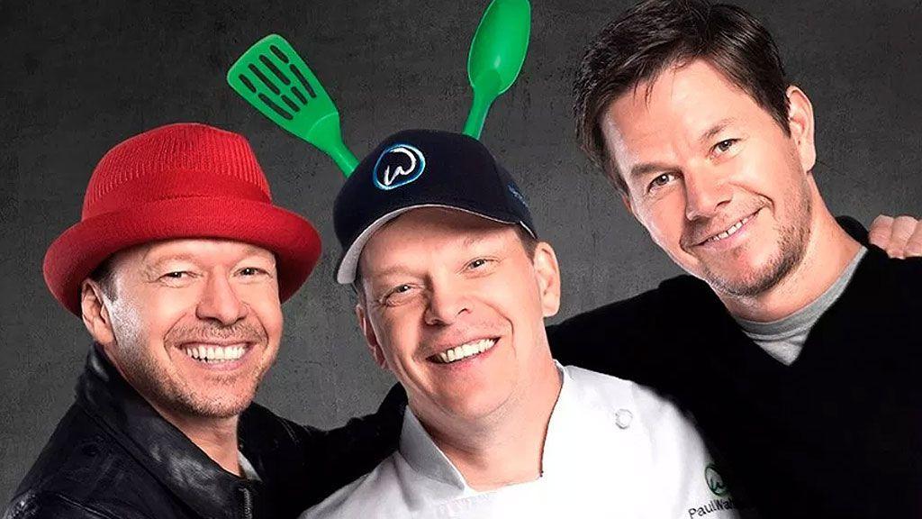 Donnie, Mark y Paul Wahlberg, los reyes de las hamburguesas en 'Wahlburgers'