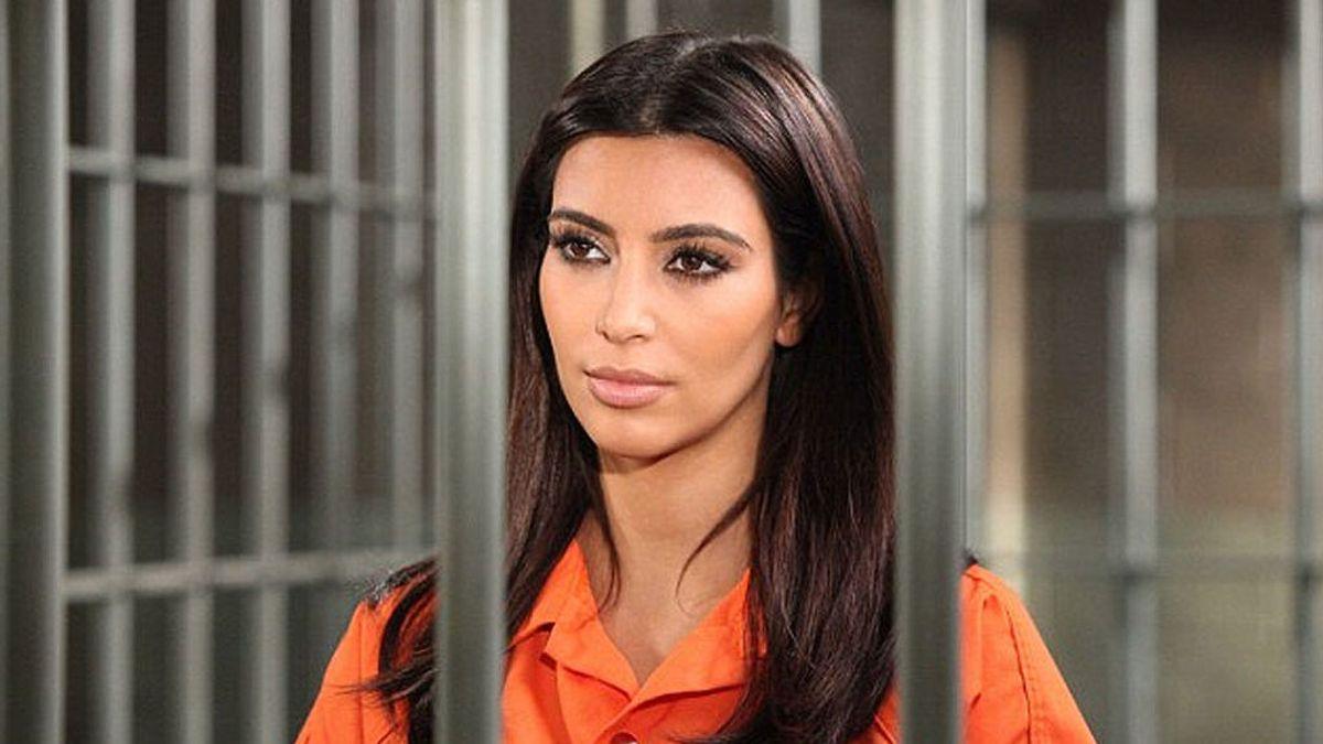 Kim Kardashian, entre rejas