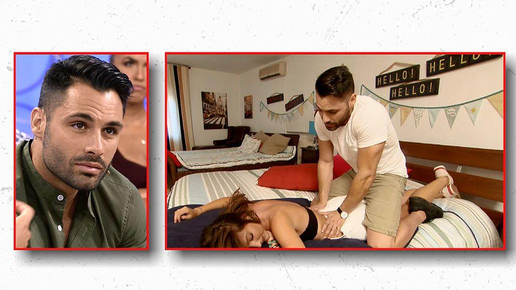 Cita Eleazar y Carmen (parte 1): un masaje para relajar a la pretendienta