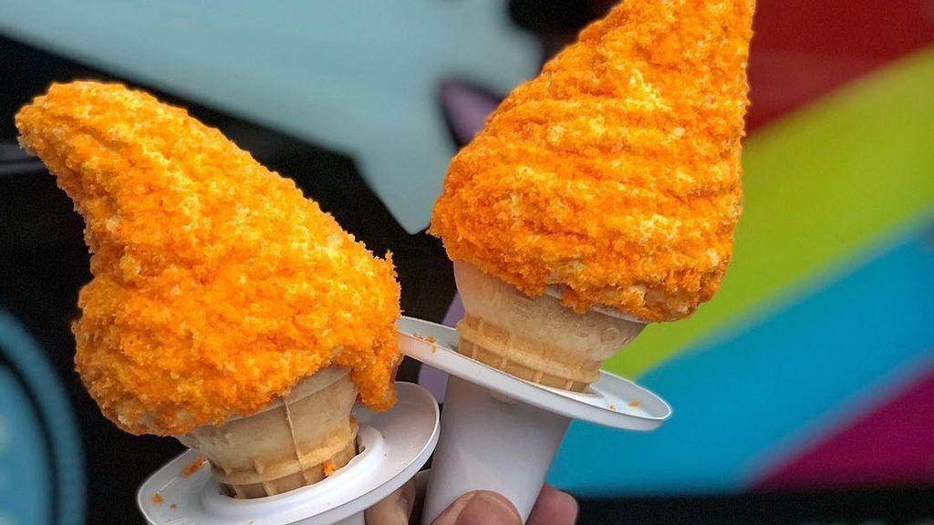 El helado de chetos existe y lo vas a querer probar ya