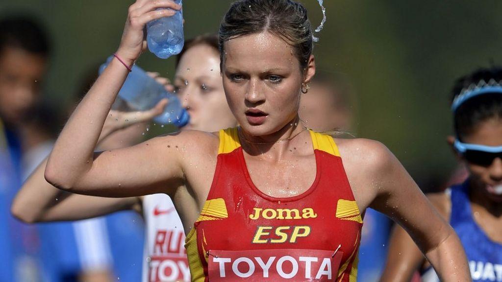 Julia Takács consigue la medalla de bronce en 50 kilómetros marcha y suma así el primer metal para la delegación española