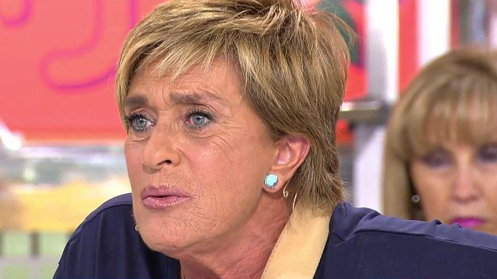 """Chelo Gª Cortés: """"Al único que tengo miedo es a Hacienda, no a Kiko Matamoros"""""""