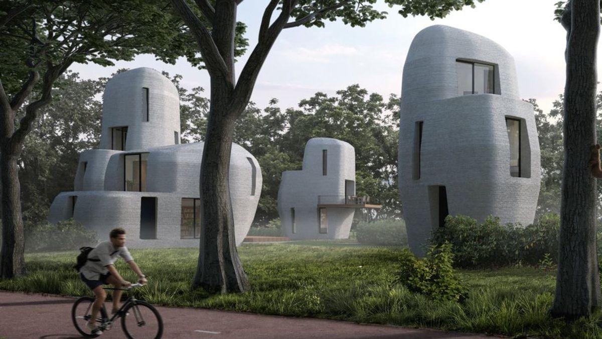 """Los Países Bajos construirán el primer barrio """"impreso"""" del mundo"""