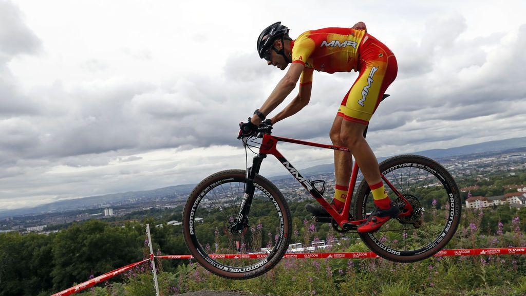 El ciclista español David Valero, bronce en el Europeo de mountain bike de Glasgow