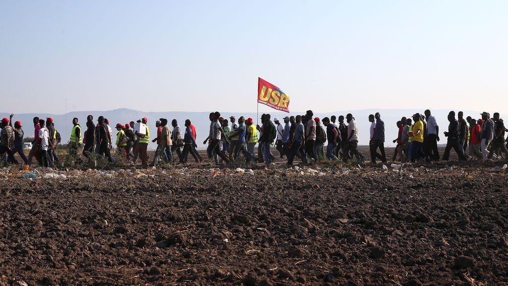 Trabajadores africanos reivindican la mejora de sus condiciones laborales