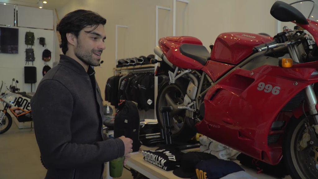 Diego Osorio, el ex de Ana Boyer, tiene la famosa moto de Mátrix