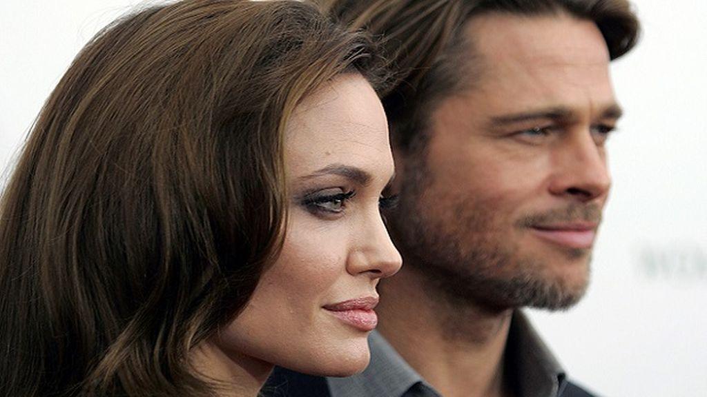 Angelina Jolie y Brad Pitt en una imagen de 2016.