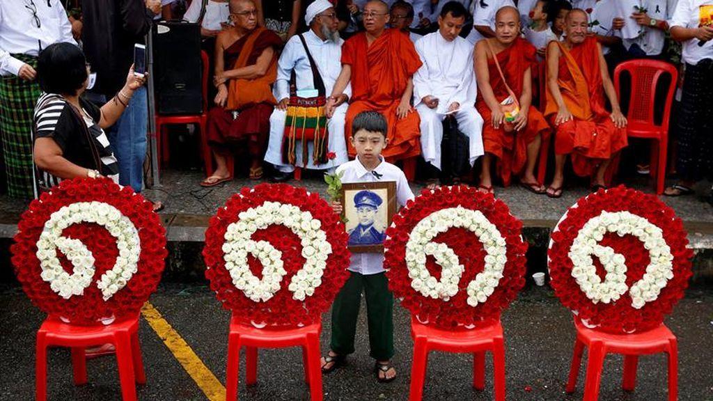 Homenaje a las vidas perdidas en el Levantamiento de Birmania