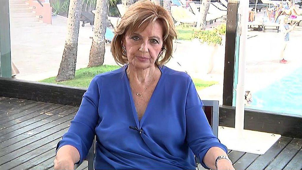 """Teresa Campos desmiente: """"Nadie me ha oído decir que me quiero jubilar"""""""