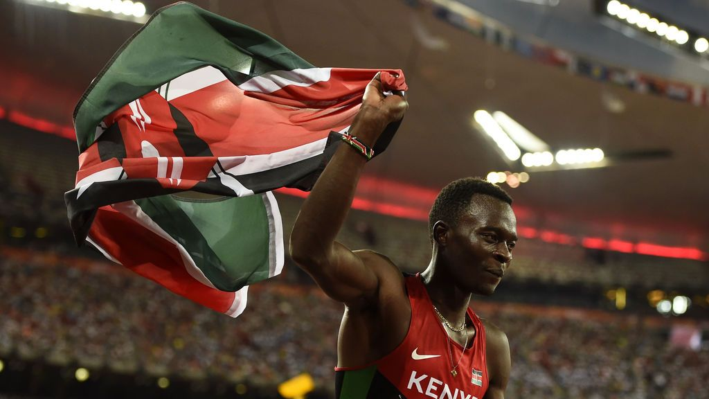 Fallece el atleta keniano Nicholas Bett, campeón mundial de 400 metros vallas en 2015, en un accidente de tráfico