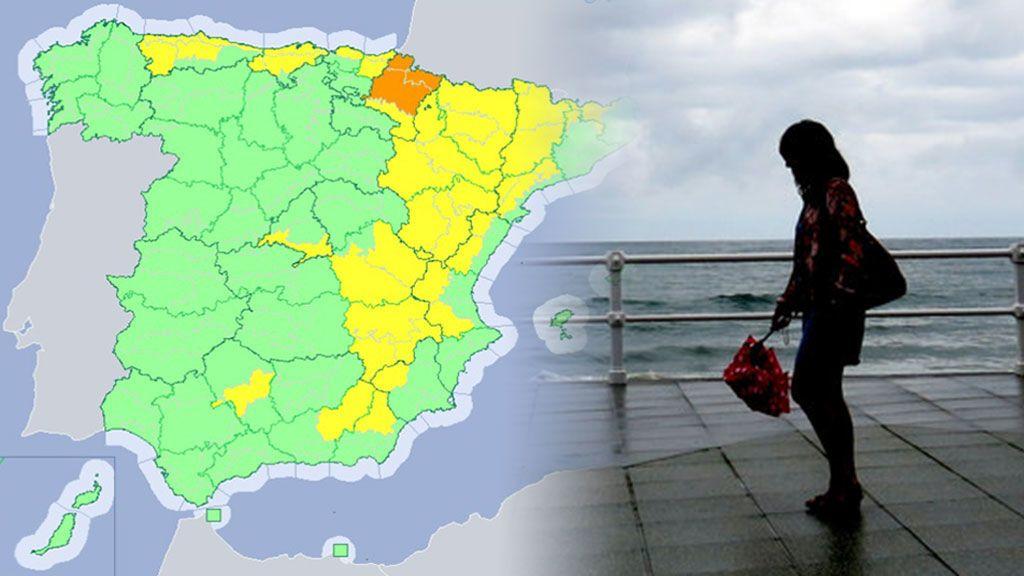 Lluvias, tormentas y fenómenos costeros: 19 provincias en aviso. Dónde y cuándo va a llover