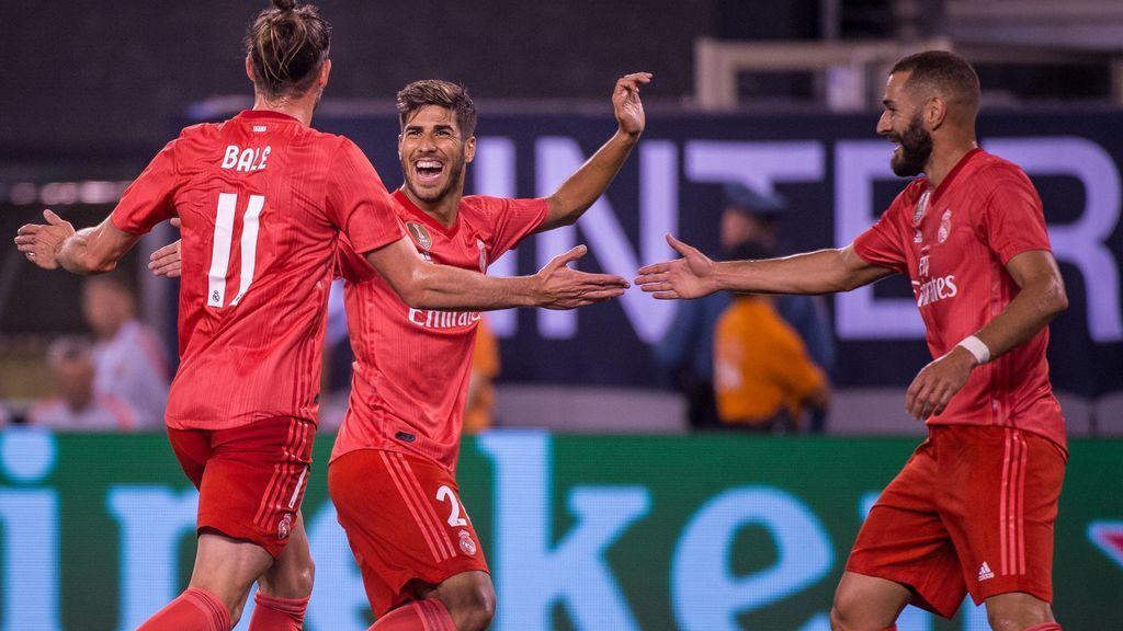 Bale, Asensio y Benzema: Los pilares de la pretemporada del Real Madrid de Lopetegui