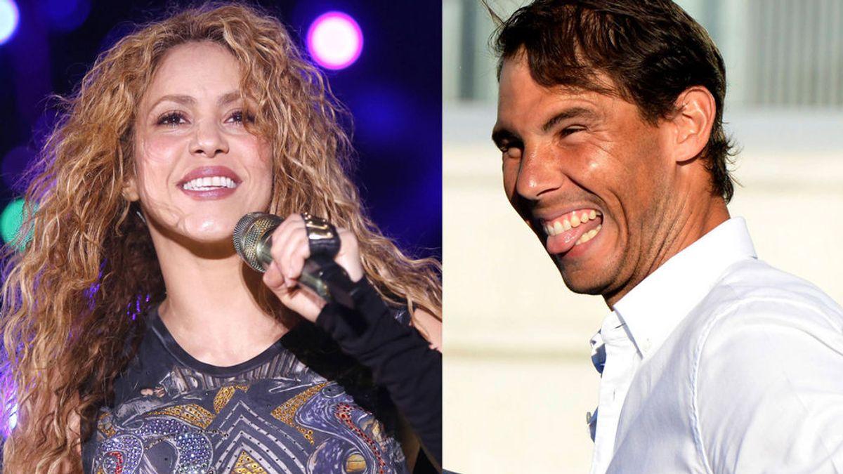 Shakira y Nadal