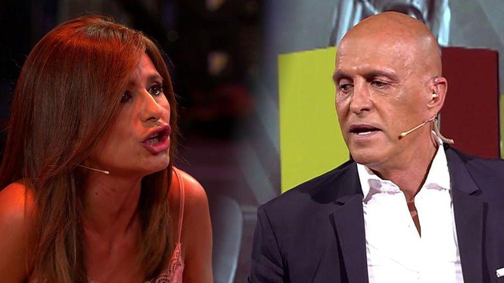 """El fuerte enganche de Gema López y Kiko Matamoros: """"Te has pasado años dando informaciones que no has podido demostrar"""""""