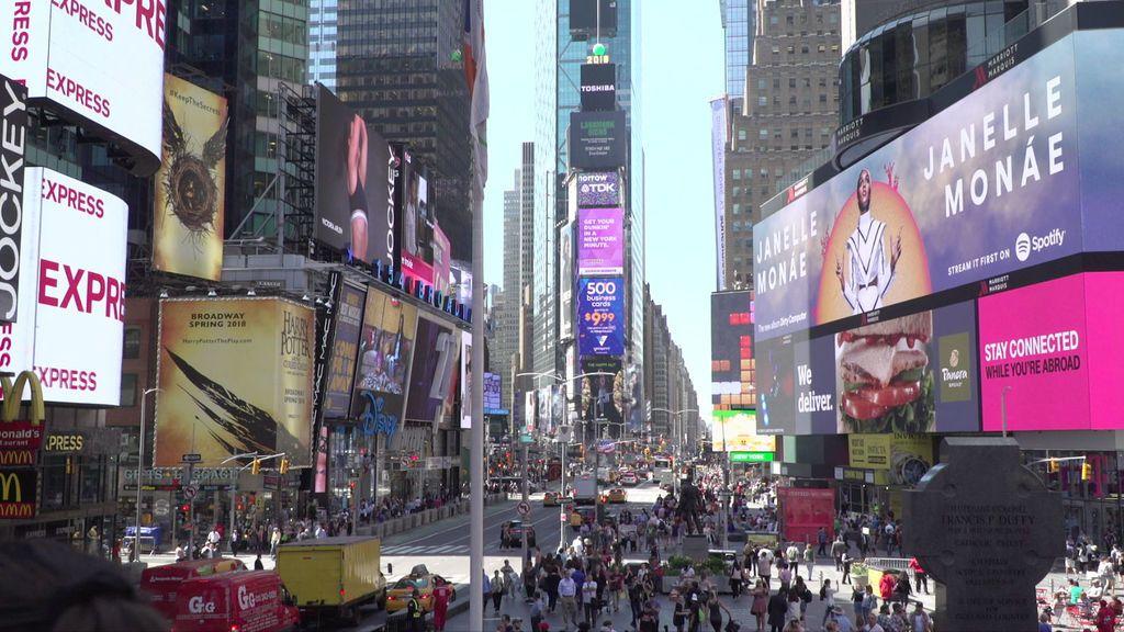'Viajeros Cuatro' recorre Nueva York.