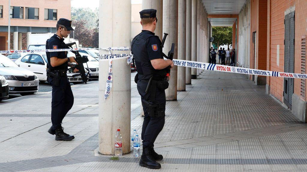 Prisión provisional comunicada y sin fianza para el acusado de matar a su suegro en Pamplona