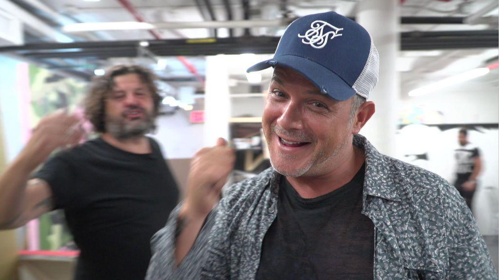 Alejandro Sanz, en 'Viajeros Cuatro'.