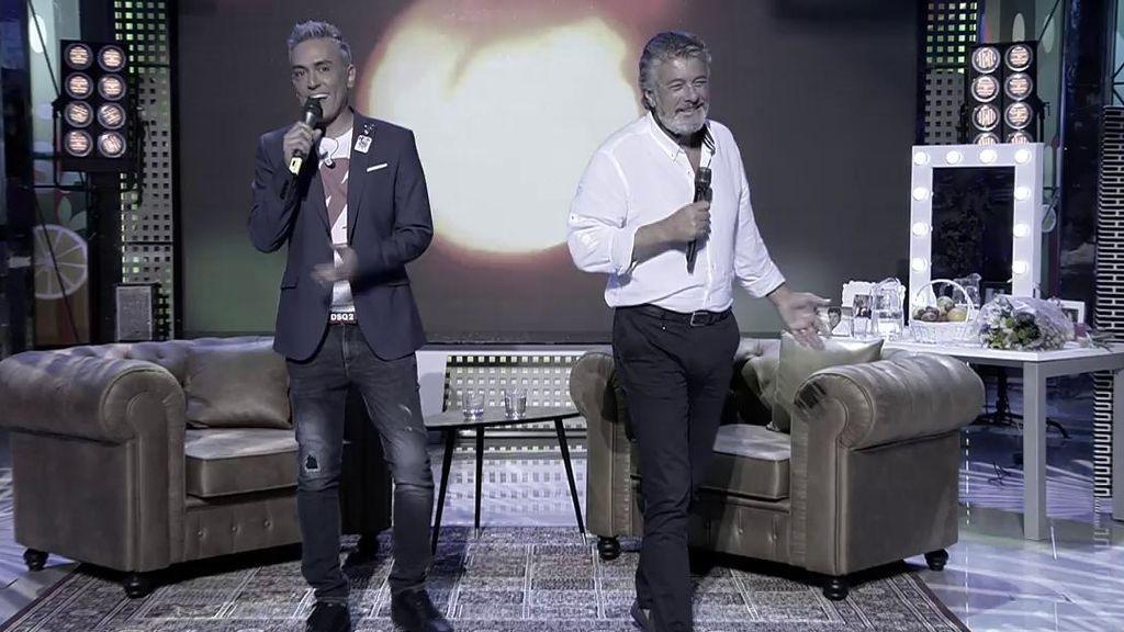 ¡¡Vaya dúo!! Kiko Hernández se atreve a cantar junto a Francisco