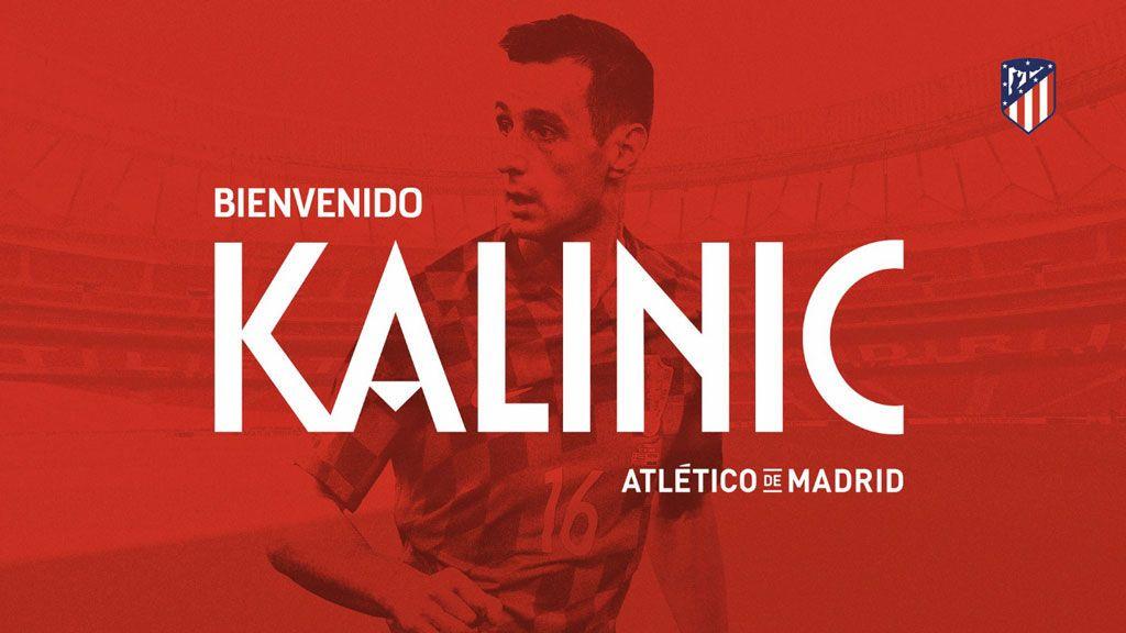 El Atlético de Madrid hace oficial el fichaje de Kalinic para las próximas tres temporadas