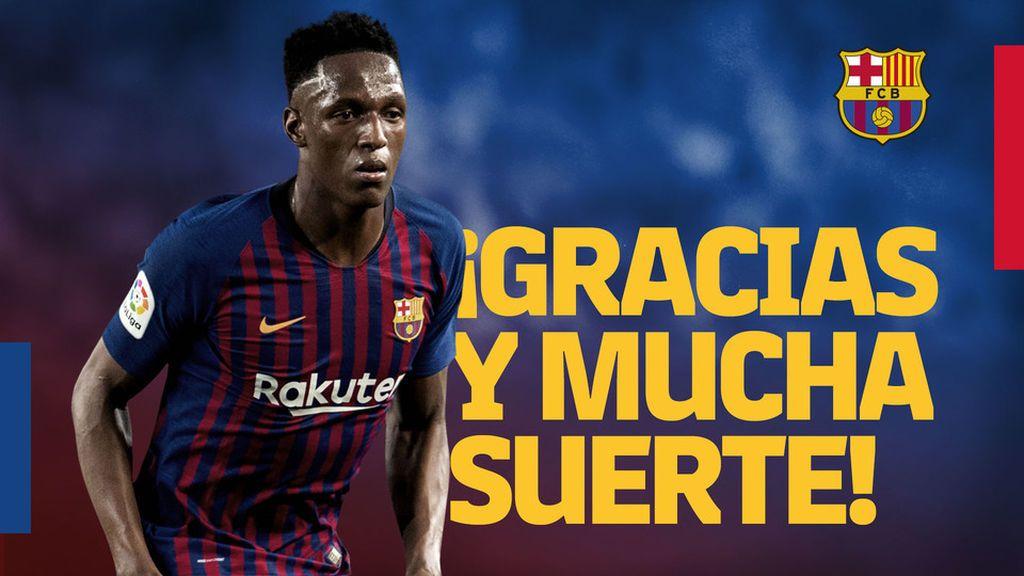 El Everton confirma el fichaje de Yerry Mina y la cesión de André Gomes procedentes del F.C Barcelona