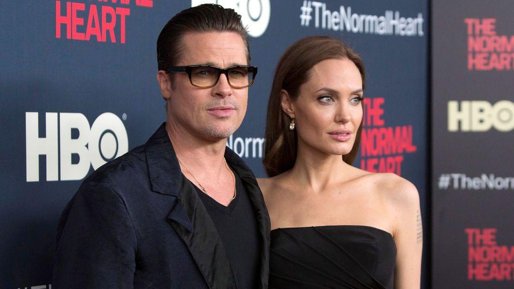 Brad Pitt y Angelina Jolie en una imagen de 2014.