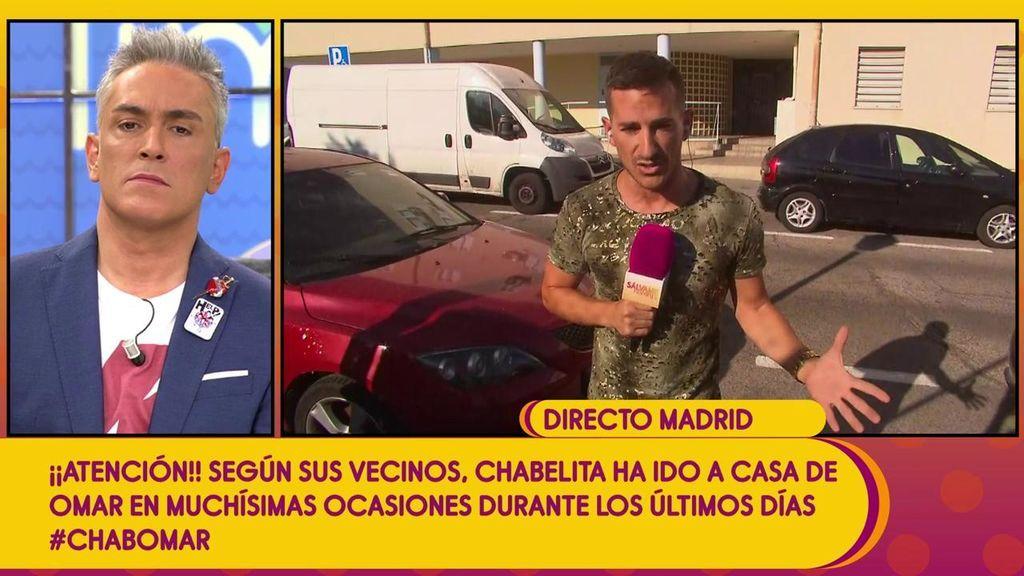 Intentan agredir a un reportero de 'Sálvame' al investigar los secretos de Omar Montes, el supuesto novio de Chabelita