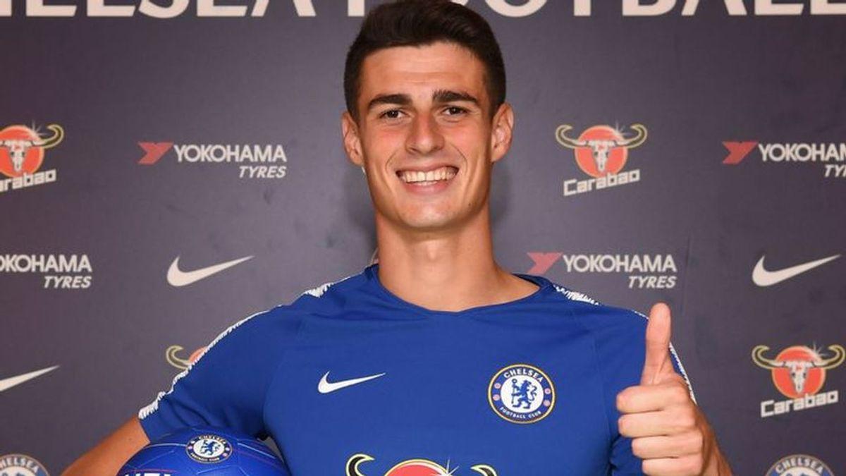 Kepa firma con el Chelsea tras pagar su cláusula de 80 millones de euros