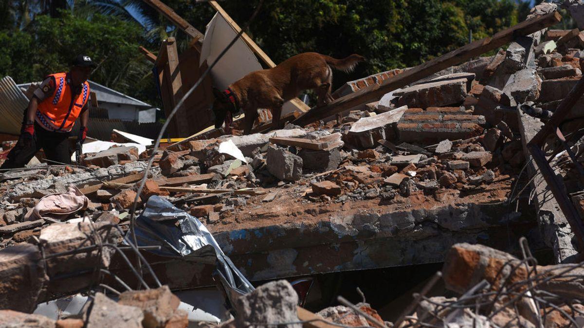 Indonesia eleva a 259 los fallecidos por el terremoto de Lombok