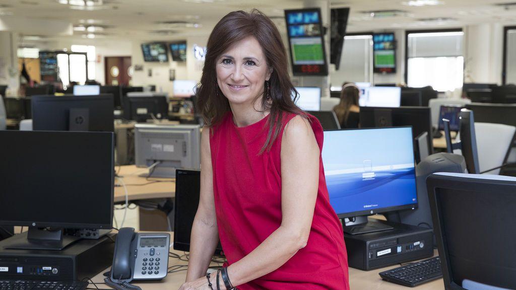 Begoña Alegría, directora de informativos de TVE.