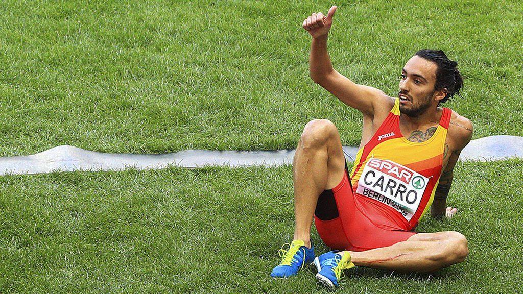 Fernando Carro se proclama subcampeón de Europa en los 3000 obtáculos en Berlín
