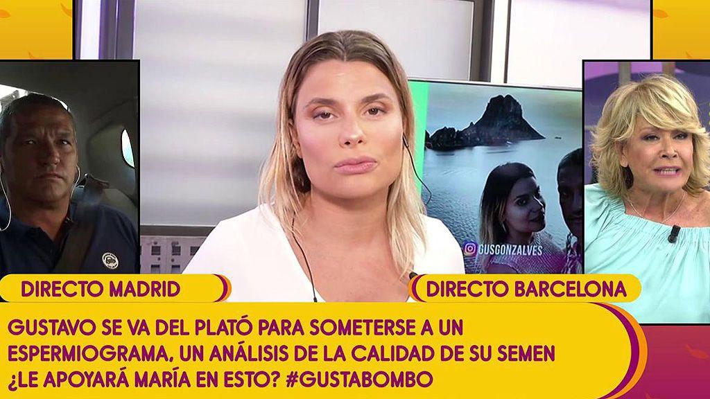 """Mila Ximénez, contra Gustavo González: """"Ojalá tu exmujer hablara y contara la verdad, lo que tú no cuentas"""""""