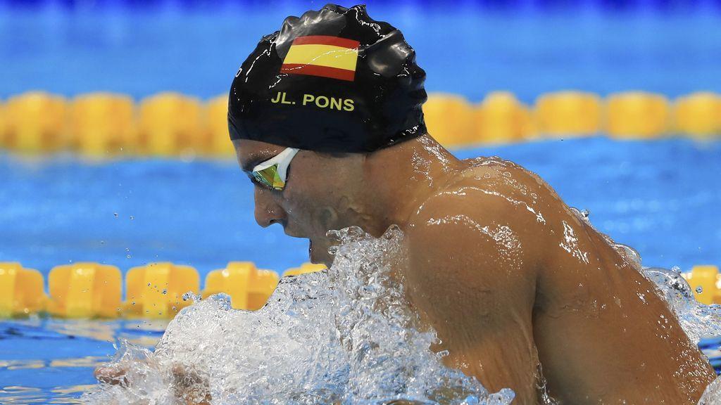 El nadador español Joan Lluís Pons, bronce en 400 estilos del Europeo de Glasgow
