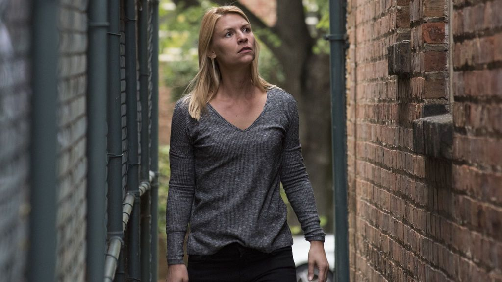 Claire Danes (Carrie Mathison), en la séptima temporada de 'Homeland'.