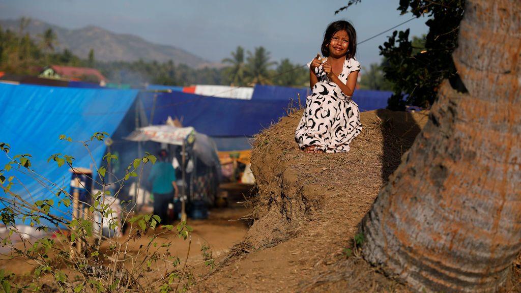 """""""Refugiados"""" tras el terremoto"""