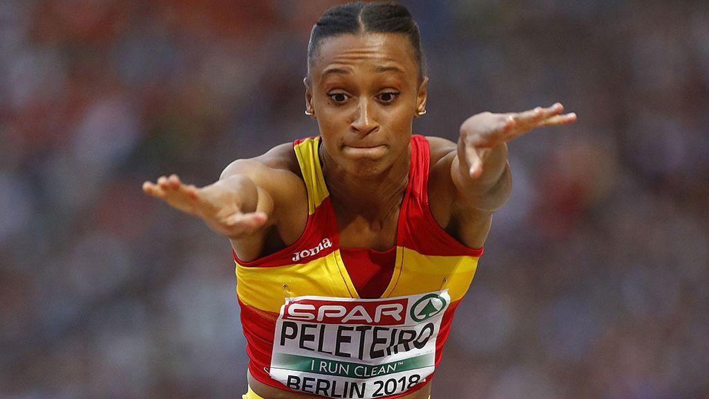 Ana Peleteiro, bronce a una centésima de la plata en el triple salto del Europeo