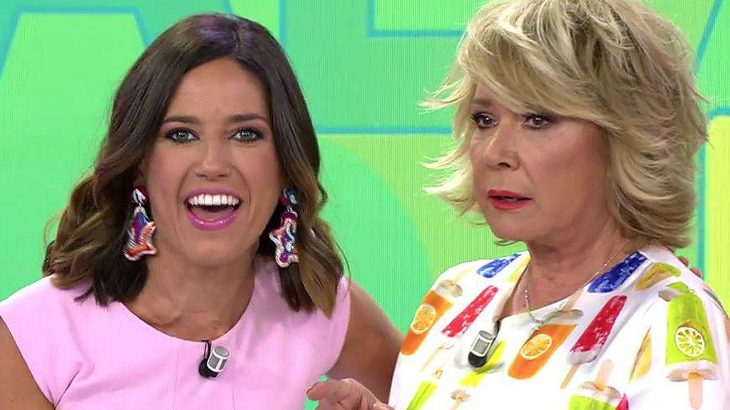 """La bienvenida más fría a Nuria Marín: """"A pesar de tu animadversión, tengo amor para las dos"""""""