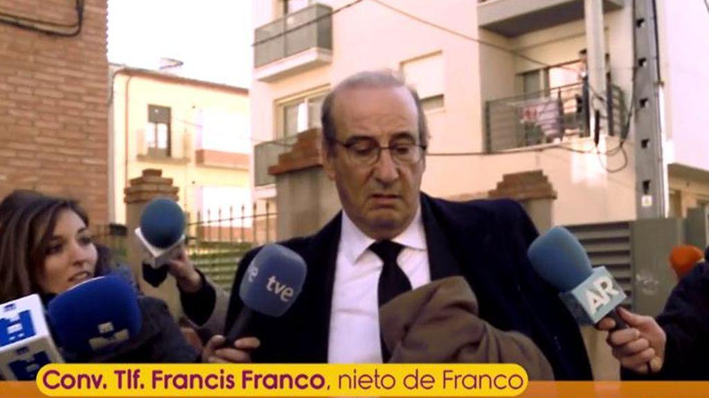 """Francis Franco, sobre la exhumación de su abuelo: """"Es todo una maniobra política"""""""