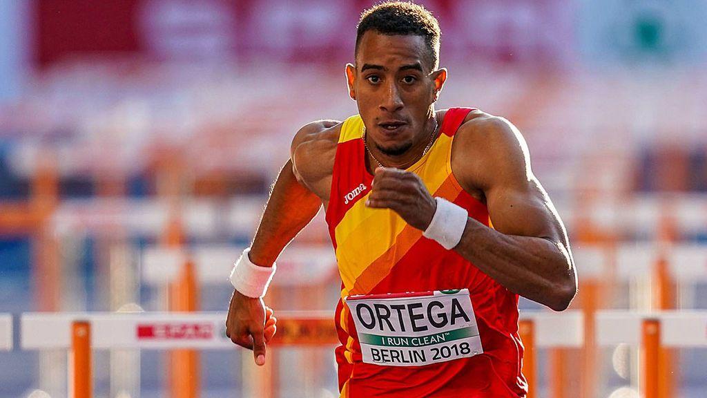 Orlando Ortega, campeón de Europa en los 110 metros vallas en el Europeo de Berlín