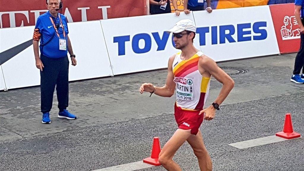 Álvaro Martín, campeón de Europa en los 20 kilómetros marcha