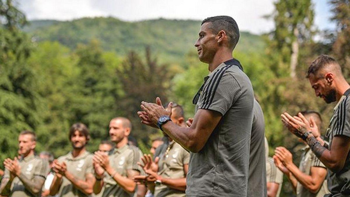 El primer mensaje de Cristiano a la afición de la Juventus tras su debut