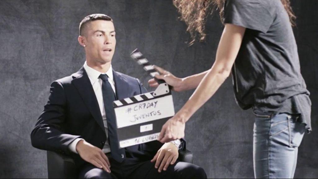 Cristiano, feliz y confiado en su primera entrevista en la televisión de la Juventus