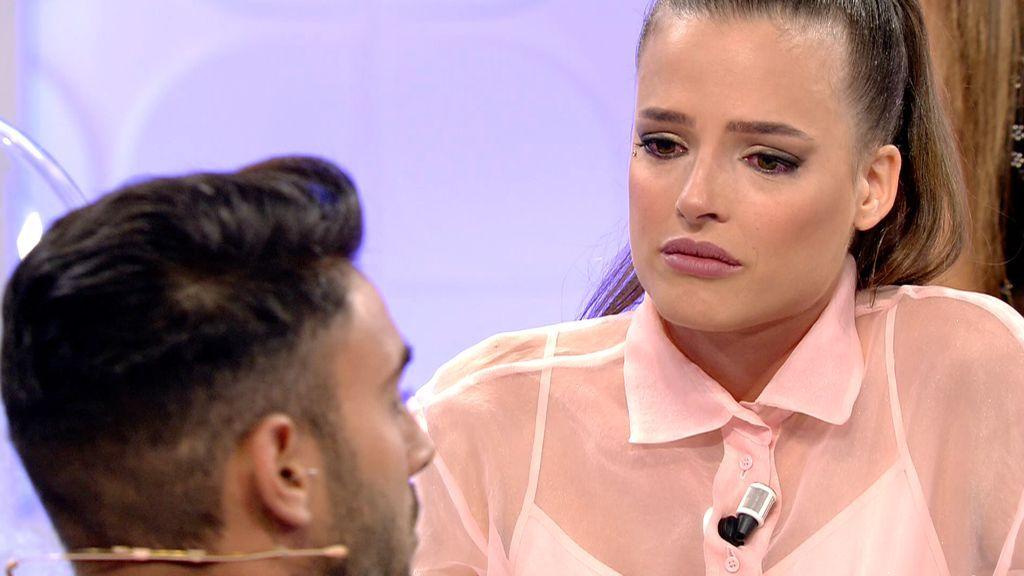 """Maira, a punto de abandonar: """"No aguanto más, estoy sintiendo mucho por usted"""""""