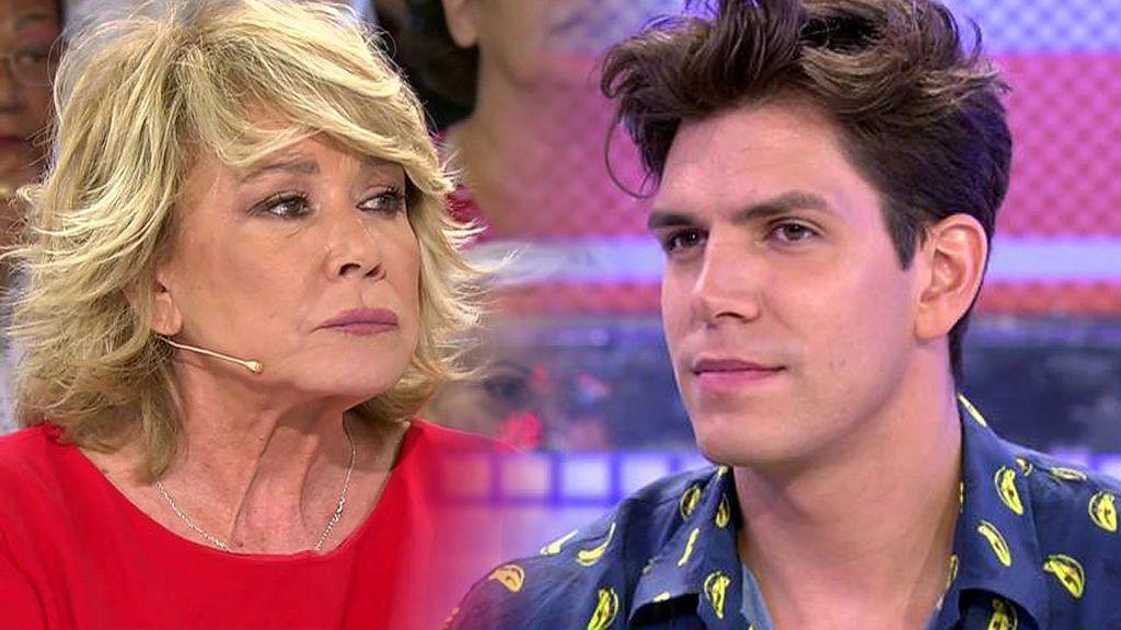 "Mila Ximénez, a Diego Matamoros: ""Se te ha ido la pinza completamente"""